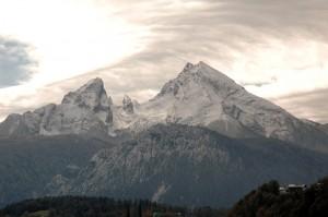 Watzmann in den Berchtesgadener Alpen