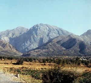 Lefka Ori auf Kreta