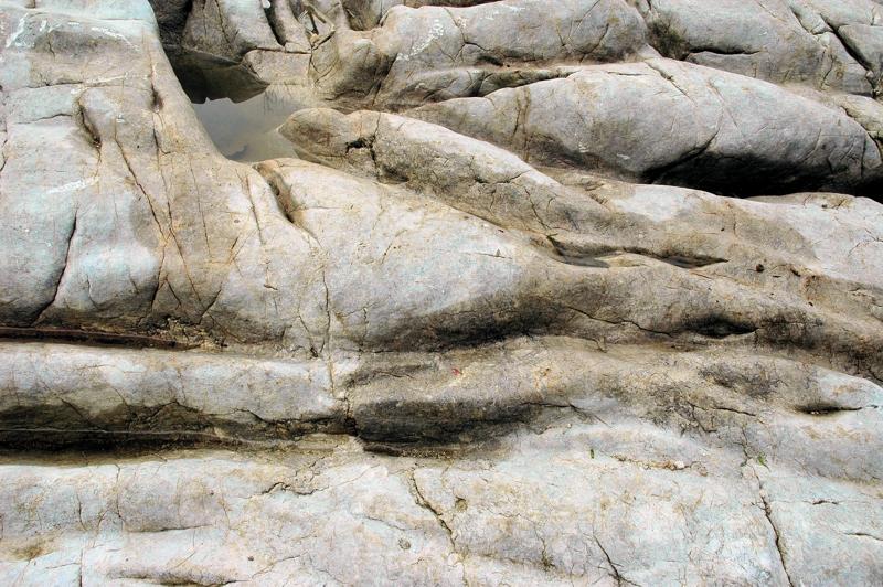 Kalkstein mit Karren