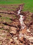 Bodenabtragung erfolgt nicht nur durch Wasser.