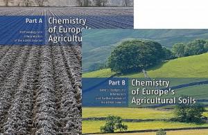 Atlas mit den Elementgehalte aller Landwirtschaftsböden in Europa