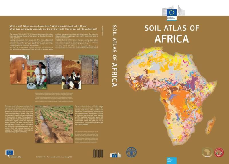 Afrikanischer Bodenatlas