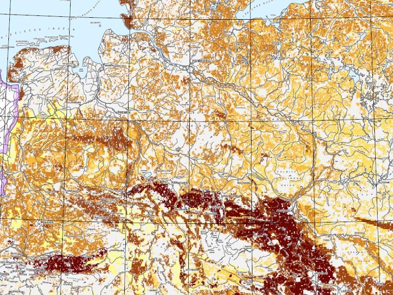 Ackerbauliches Ertragspotential der Böden in Deutschland