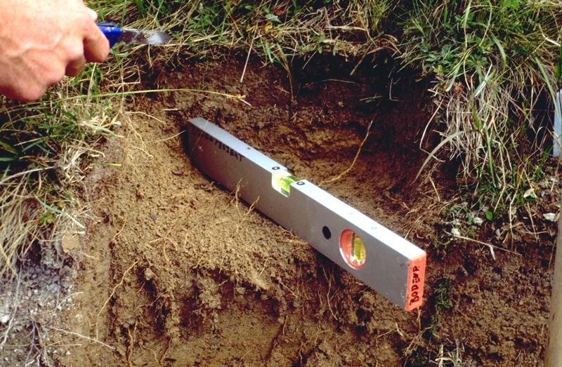 Ersatzverfahren zur Bestimmung der Lagerungsdichte des Bodens