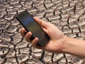 Eine Handy-App soll in Zukunft die Auswirkungen von Dürre mildern.