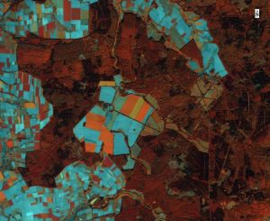 Satellitenbild, Infrarotversion