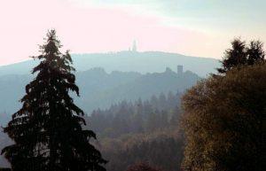 Blick zum Großen Feldberg